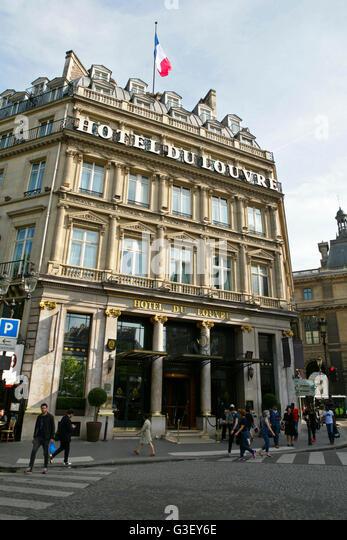Famous Hotel De Louvre Du Is A Luxury 5 Star Located In