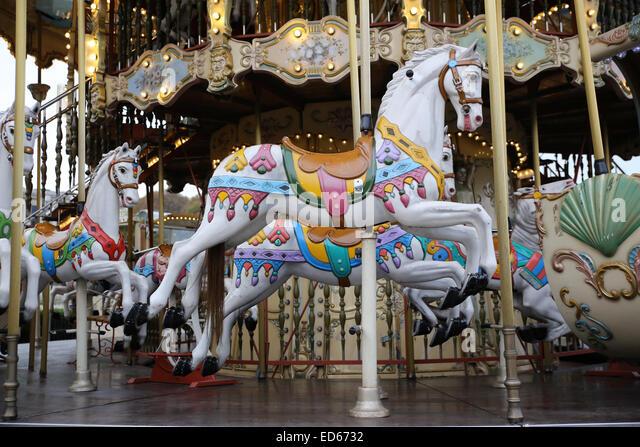 Merry Go Round Horse Stock Photos & Merry Go Round Horse ...