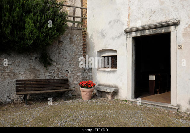 San Rocco Church In Limone Lake Garda In Lombardy Italy. - Stock Image & Rocco Entry Doors \u0026 Pezcame.Com