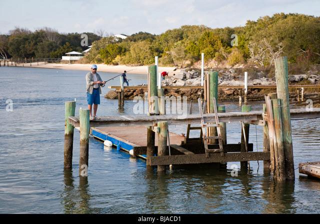 Tolomato river stock photos tolomato river stock images for St augustine fishing pier