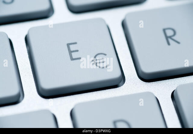 how to put the euro sign on keyboard