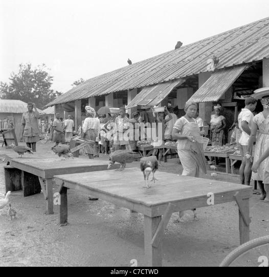 Nigeria in the 1950s-60s?