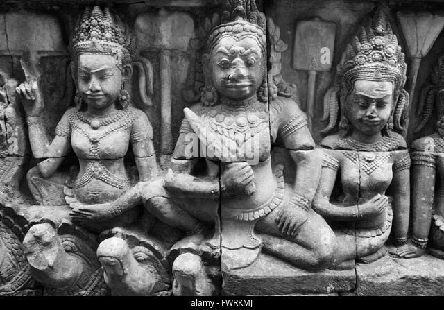 Ramayana cambodia stock photos