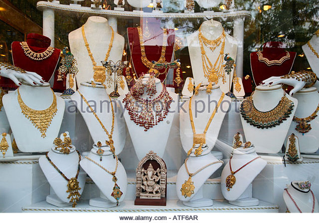 Jewelry store stock photos jewelry store stock images for Indian jewelry queens ny