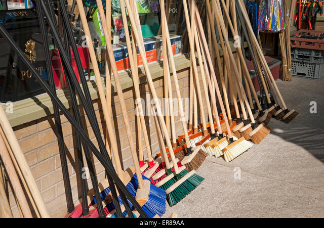 Sweeping Brushes Stock Photos