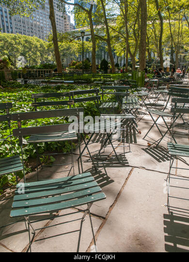 Bryant Park Chairs Stock Photos Bryant Park Chairs Stock Images Alamy