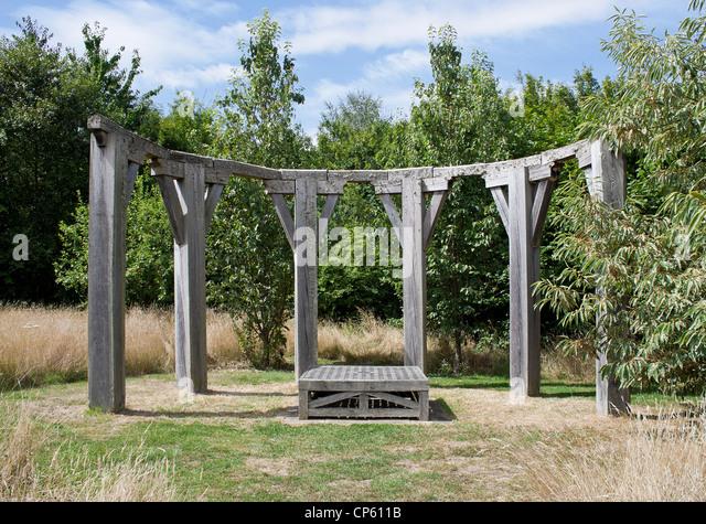 Organic Garden Yalding Kent UK