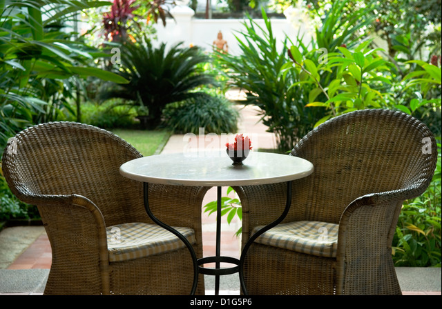 Kerala chairs stock photos kerala chairs stock images for Terrace 6 indore