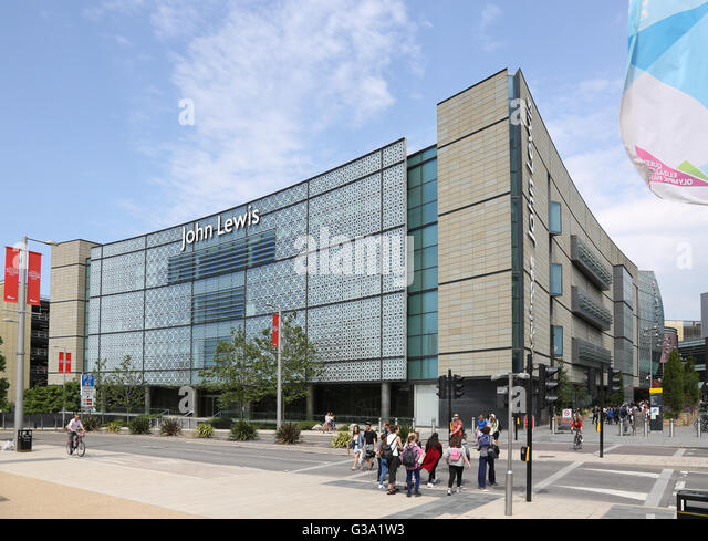 Westfield London Shopping Mall Exterior Stock Photos
