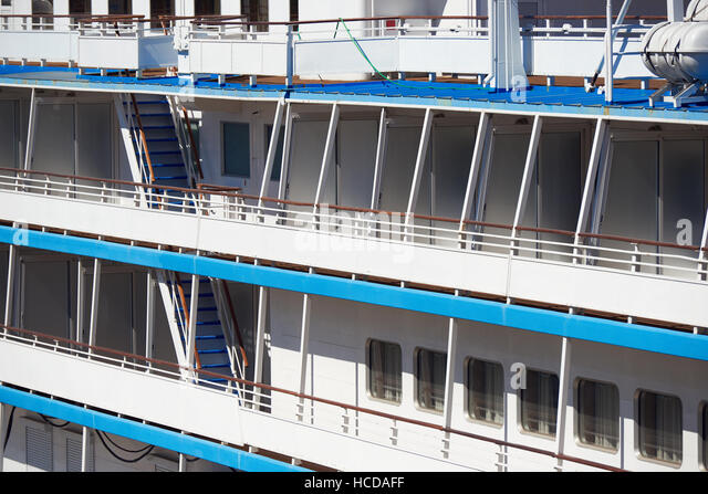 Cruise ship balcony stock photos cruise ship balcony for Cruise ship balcony view