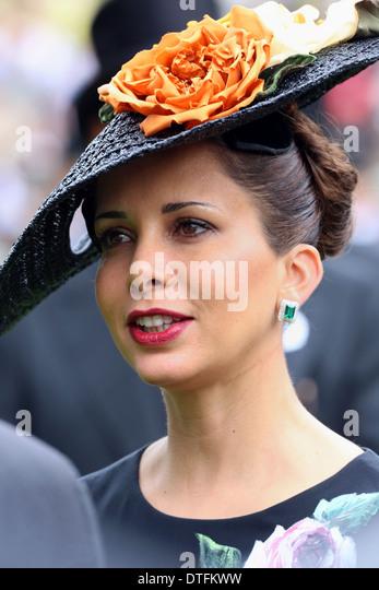 Ascot United Kingdom  City pictures : Ascot, United Kingdom, Princess Haya Bint Al Hussein Stock Bilder