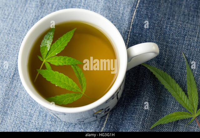 how to make marijuana tea with leaves