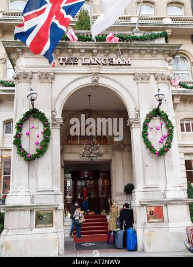 Portland Foyer Langham Hotel : Langham hotel london stock photos