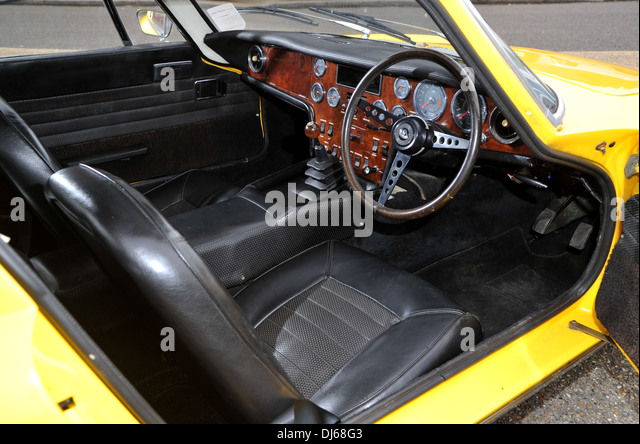 1973 lotus elan 22 classic sports car stock image