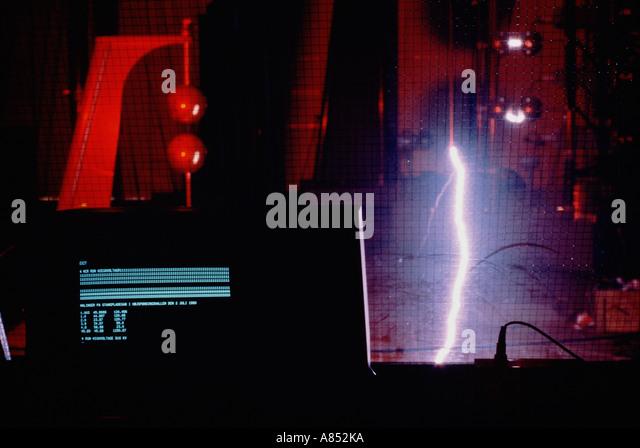High Voltage Computer : Voltage test stock photos images alamy