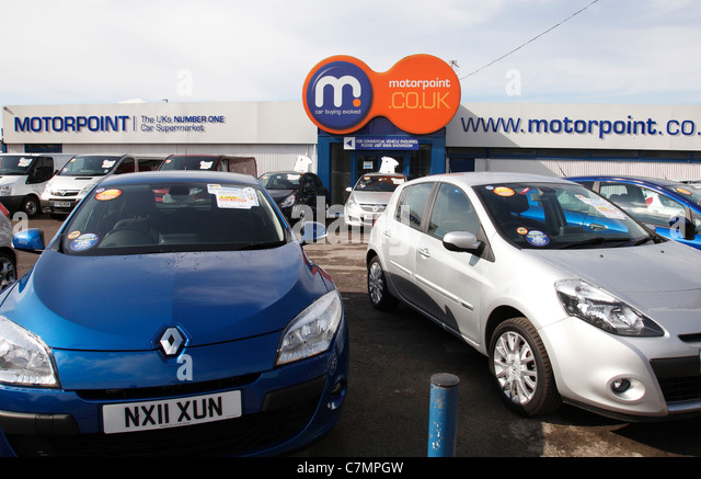 Car Supermarket: Motorpoint Stock Photos & Motorpoint Stock Images