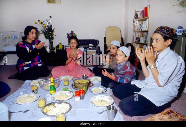 Asian prayer eating images 244
