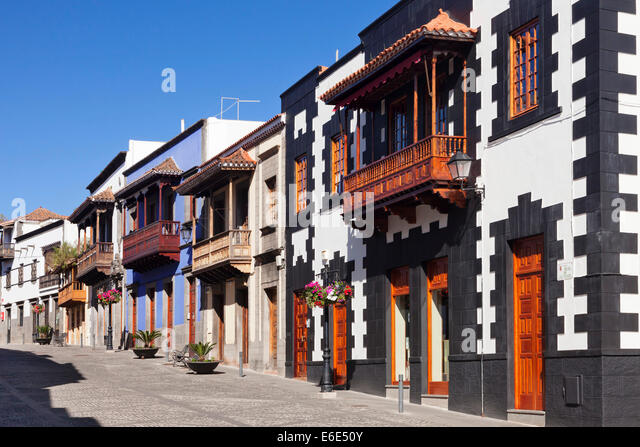 Teror stock photos teror stock images alamy - Houses in gran canaria ...