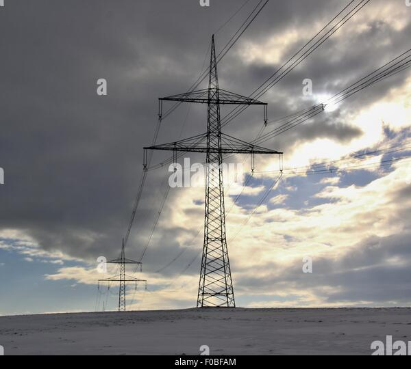 winter landscape mast electrical wiring stock photos & winter, circuit diagram, landscape electrical wiring