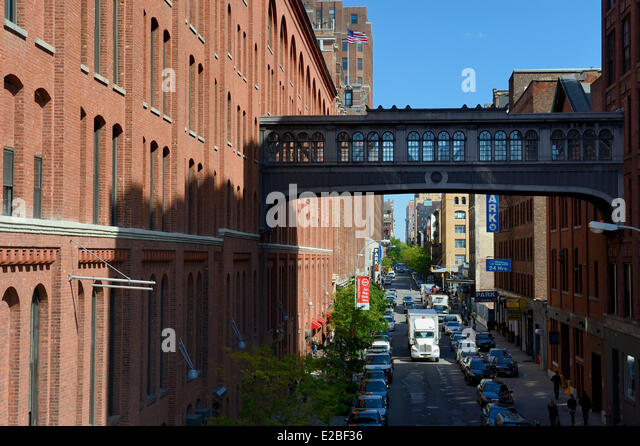 Gansevoort Market Plan chelsea market manhattan new york stock photos & chelsea market