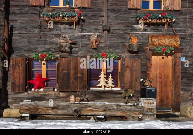 Cabin Christmas Stock Photos Cabin Christmas Stock