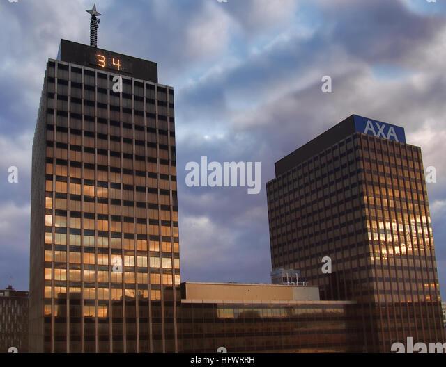 Axa central stock photos axa central stock images alamy - Axa insurance uk head office ...