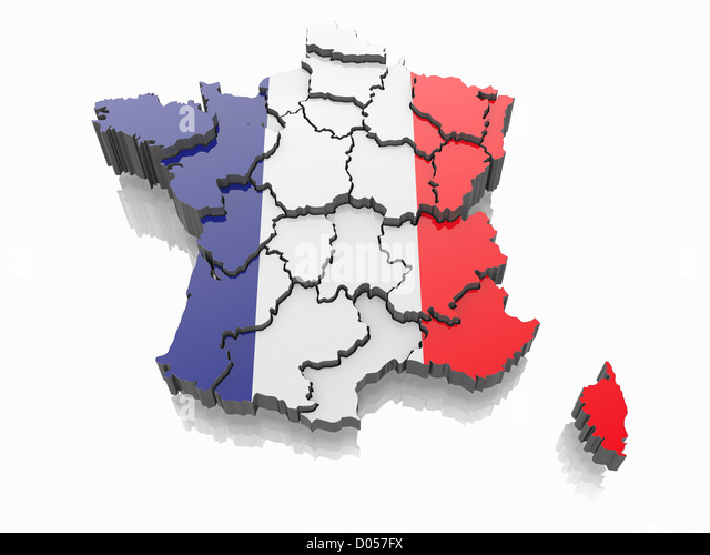 France Map Cut Out Stock Images Amp Pictures Alamy