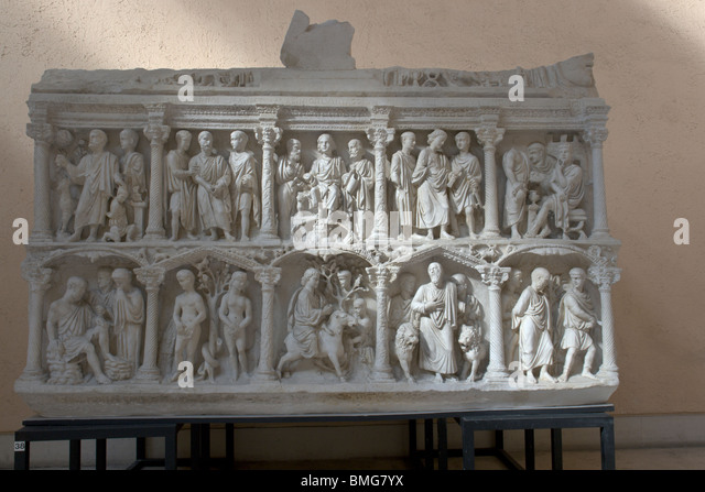 sarcophagus of junius bassus analysis