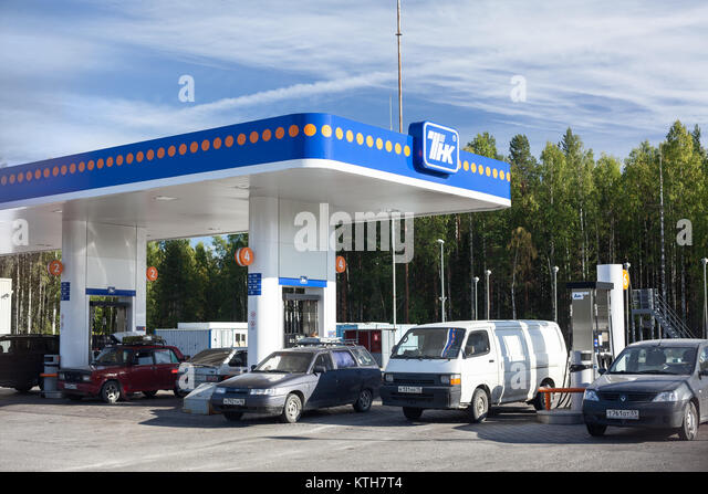 tnk bp stock photos tnk bp stock images alamy kola route karelia russia sep 2011 petrol refuel station of tnk