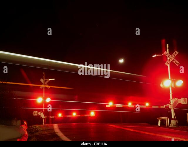 Red Train Signal Stock Photos Red Train Signal Stock Images Alamy
