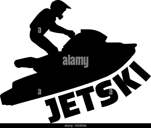 Jet boat black and white stock photos images alamy - Jet ski dessin ...