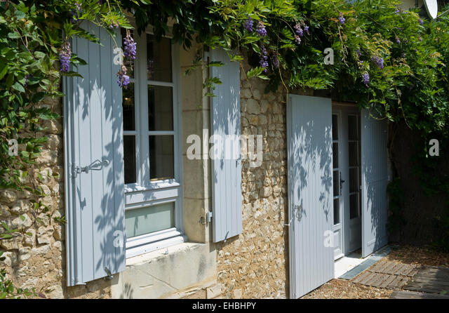 French Farm Shutters Stock Photos French Farm Shutters