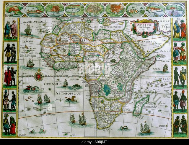 Africa Map Stock Photos  Africa Map Stock Images  Alamy
