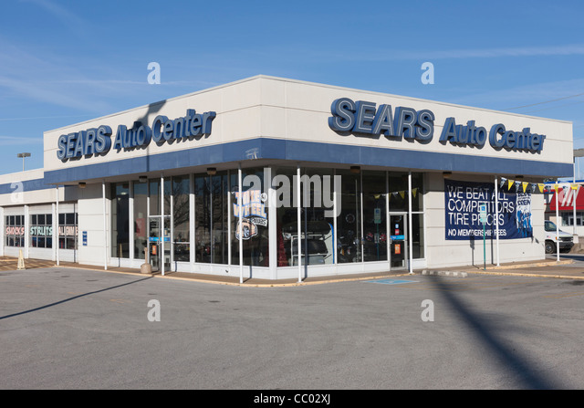 The Sears Auto Center in the parking lot east of the main mall building permanently closed on Saturday, according to another employee. Big yellow signs declaring While Sears in Hyannis may be.