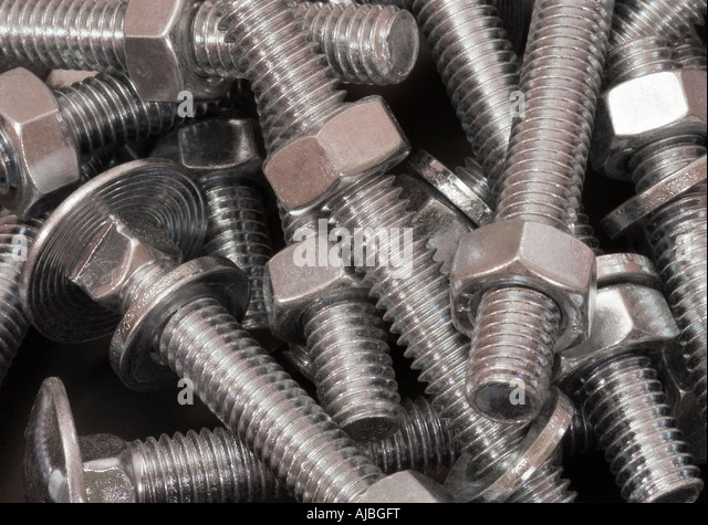 how to put nuts and bolts together