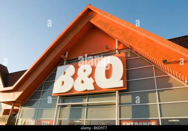 B And Q Diy Store Stock Photos Amp B And Q Diy Store Stock