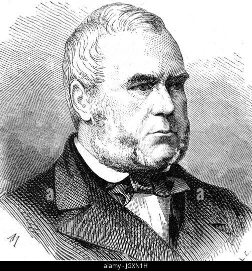 ALEXANDER WIELOPOLSKI (1803-1877)  Polish aristocrat - Stock Image