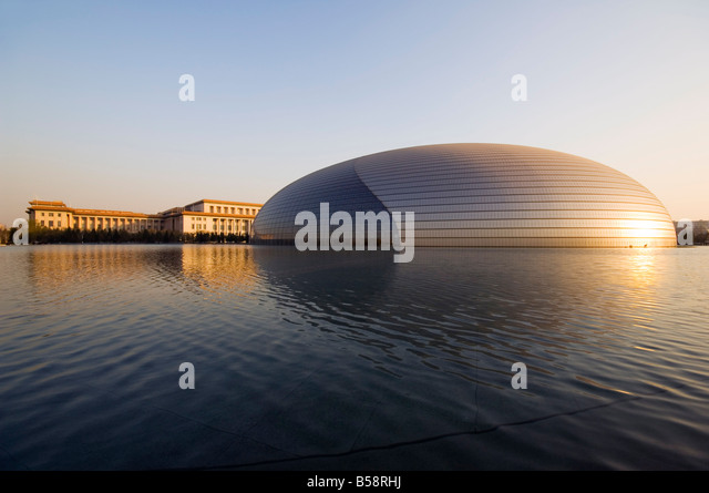 China theatre stock photos china theatre stock images for Beijing opera house architect