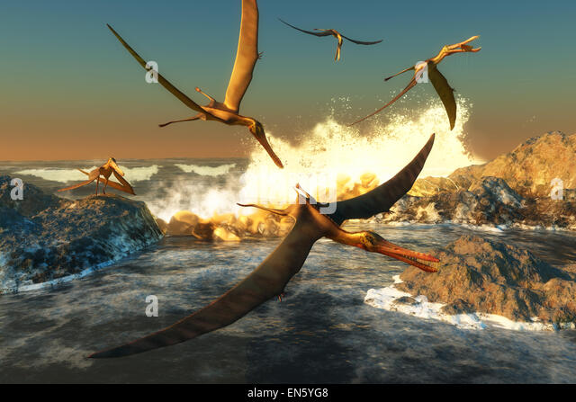 Flying Reptiles Stock Photos & Flying Reptiles Stock ...