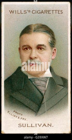 SIR <b>ARTHUR SULLIVAN</b> Musician, noted for his collaboration with Gilbert on a ... - sir-arthur-sullivan-musician-noted-for-his-collaboration-with-gilbert-g39xw7