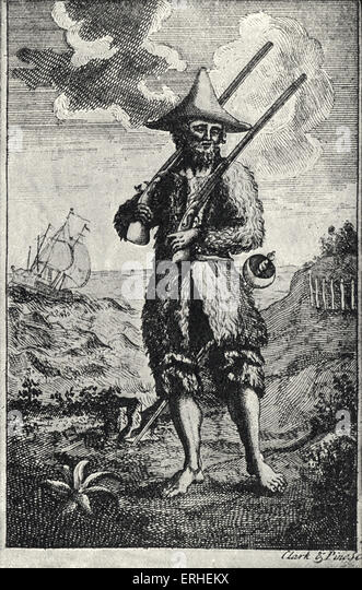 Robinson Crusoe Illustration Stock Photos  Robinson Crusoe