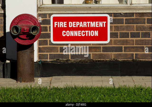Fire Department Connection Stock Photos & Fire Department ...