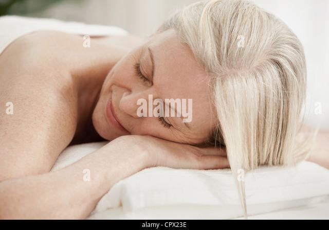 Mature Women Massage