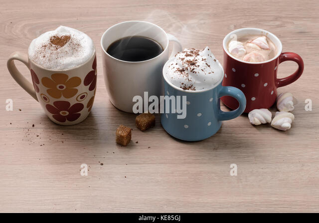 how to make different kinds of coffee drinks