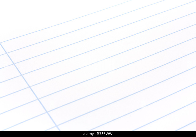 Notebook Paper Sheet Lines Education Photos Notebook Paper – Blank Sheet of Paper with Lines