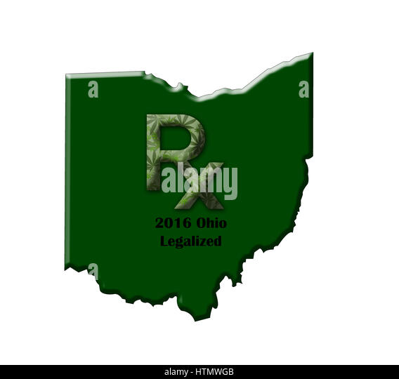 Ohio State Map Stock Photos Ohio State Map Stock Images Alamy - Map of state of ohio