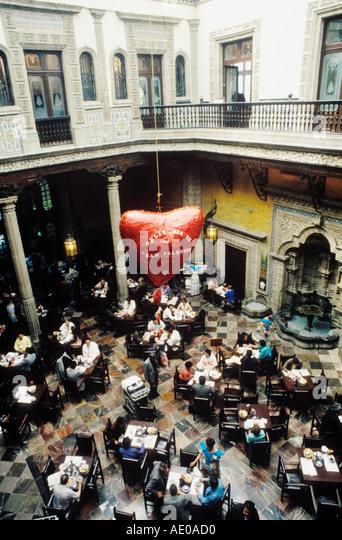 Sanborn stock photos sanborn stock images alamy for Sanborns restaurant mexico