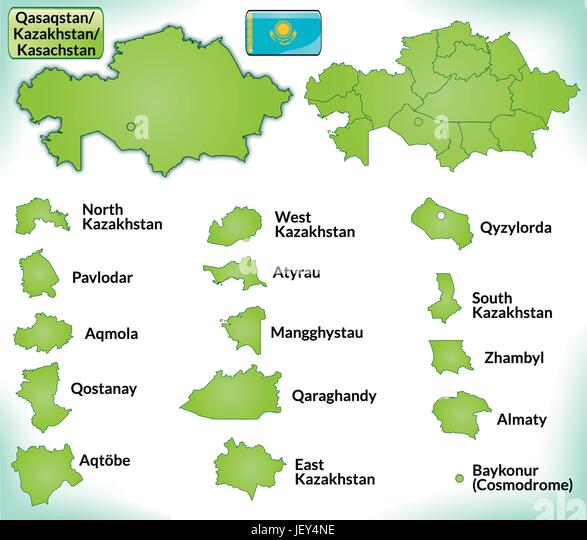 Kazakhstan map vector stock photos kazakhstan map vector stock card outline administration borders state kazakhstan atlas map of publicscrutiny Image collections