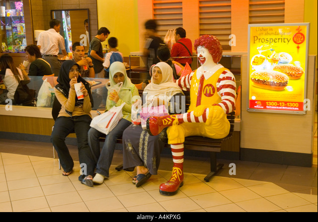 mc donald muslim A 19-year-old muslim student with hijab was stopped from placing an order at a  mcdonald's restaurant in north london, according to media.