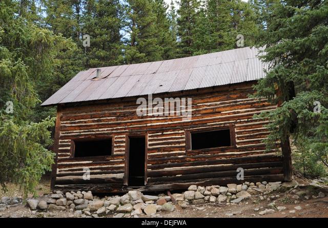 Gold mining colorado stock photos gold mining colorado for St elmo colorado cabins
